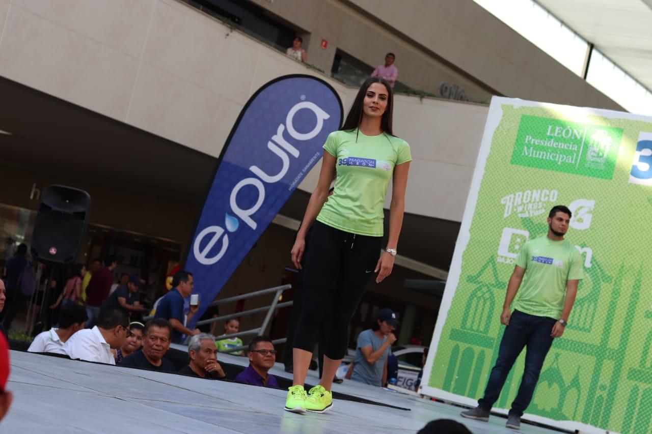 Presenta Comude la nueva piel del Maratón León Guiar 2018.