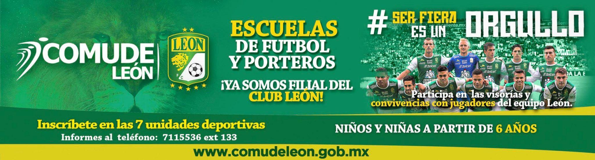 Escuela de Futbol y Porteros Filial del CLub León