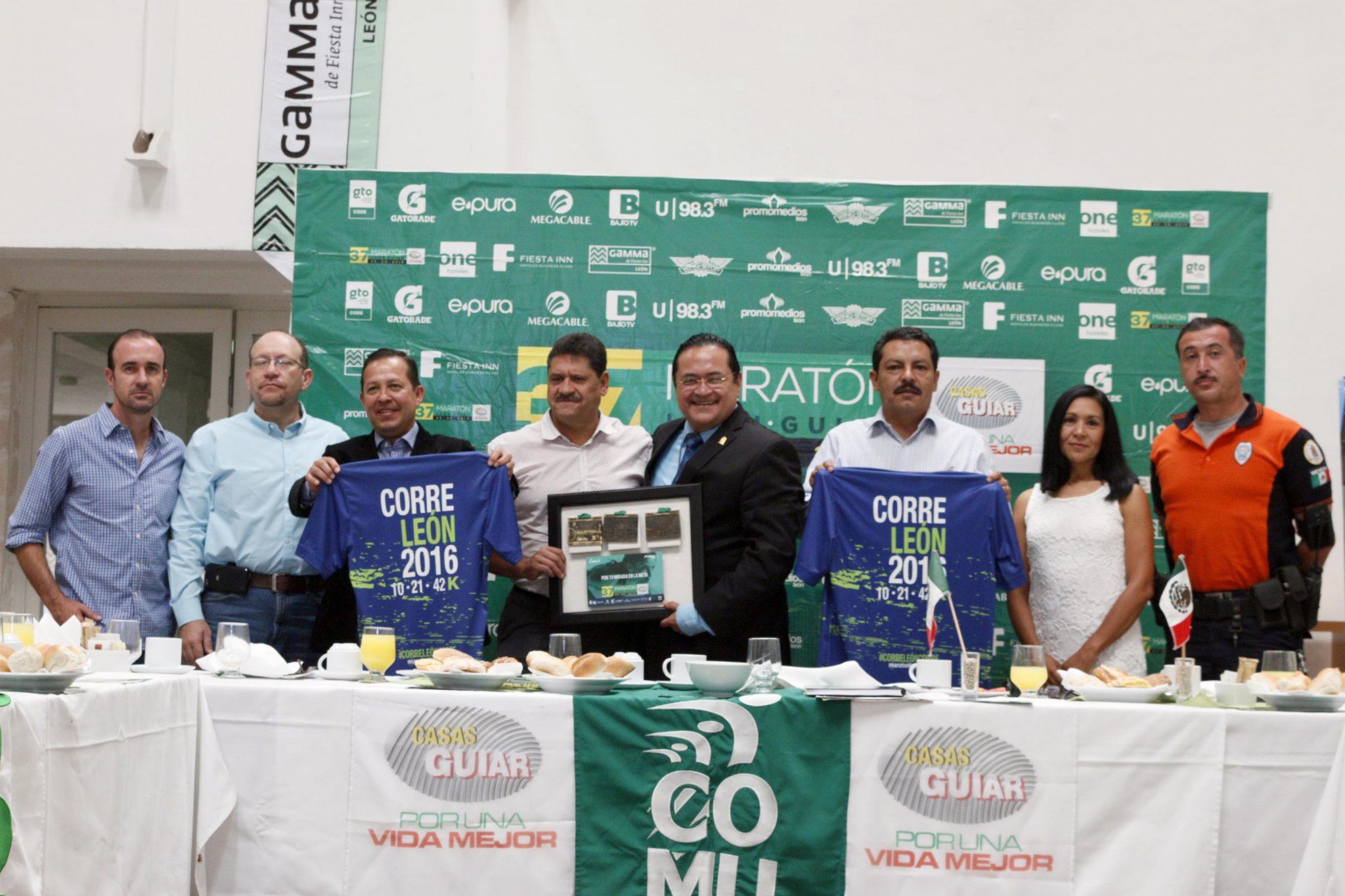 Refuerzan Dependencias Municipales la edición 37 del Maratón León Guiar 2016.