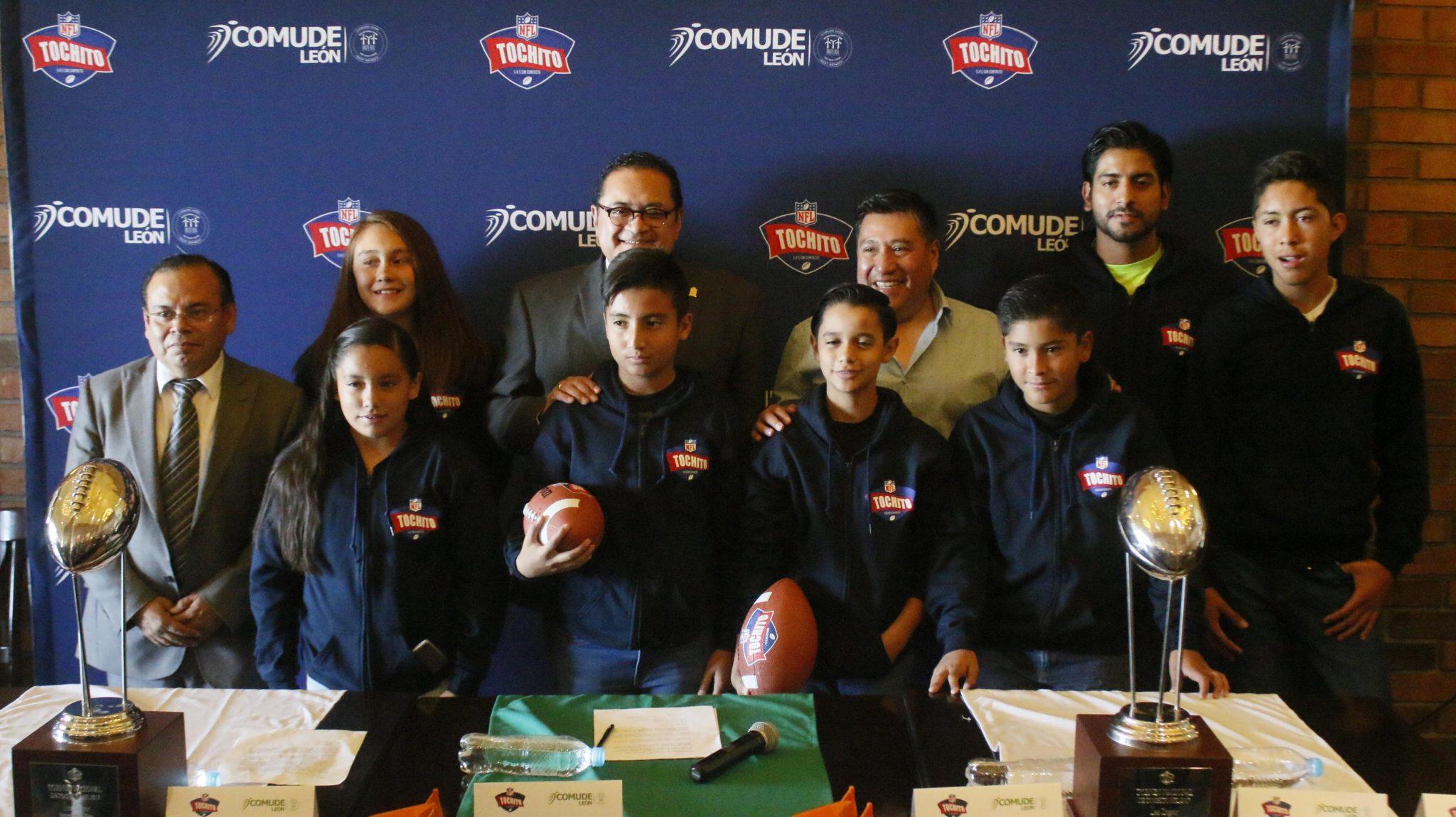 Anuncian Torneo Nacional de Tochito NFL 2017 en León.