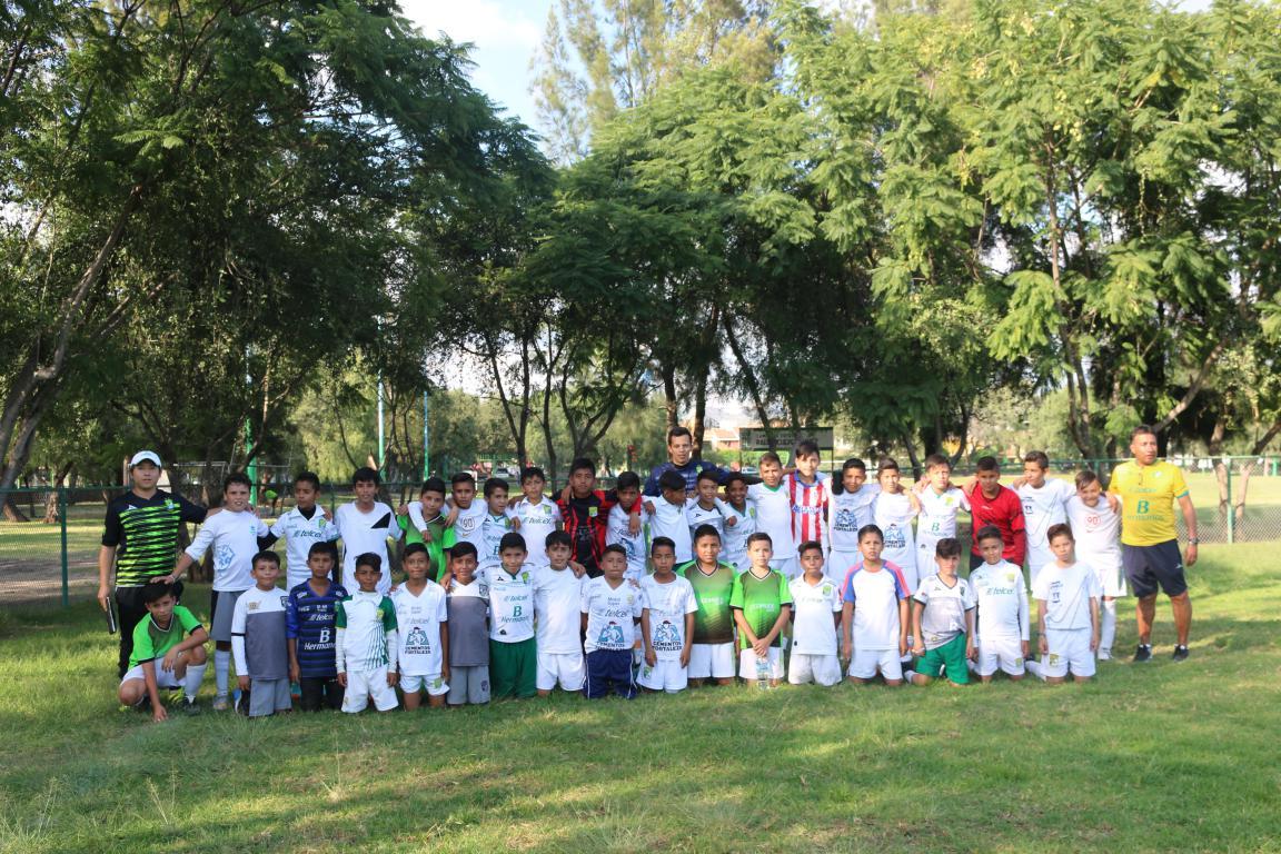 Rinde frutos alianza de escuelas de futbol de Comude León con fuerzas básicas del Club León.