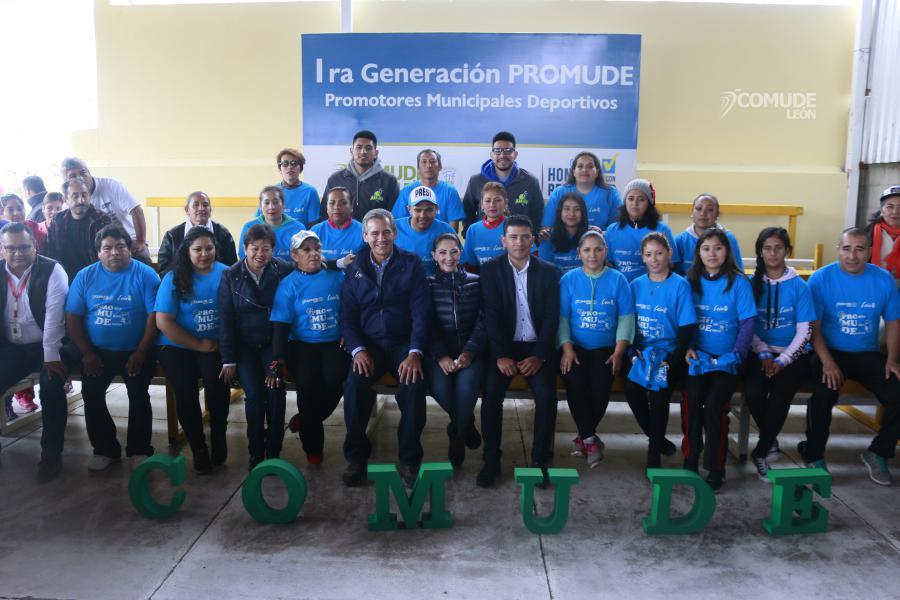 Reciben constancia de acreditación 26 nuevos Promotores Municipales Deportivos.