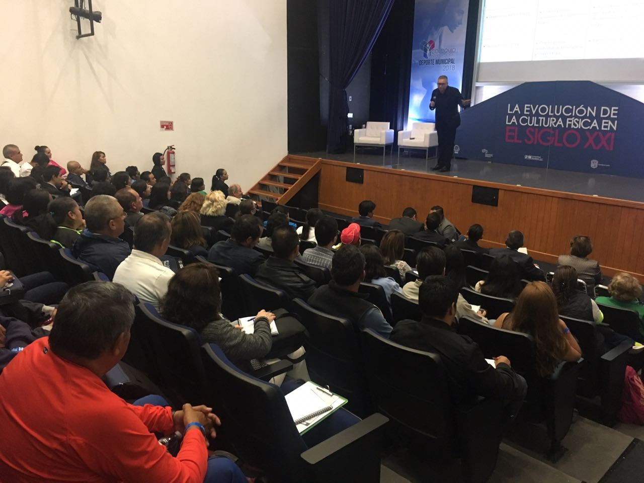 Arranca con éxito el Coloquio Internacional de Deporte Municipal 2018
