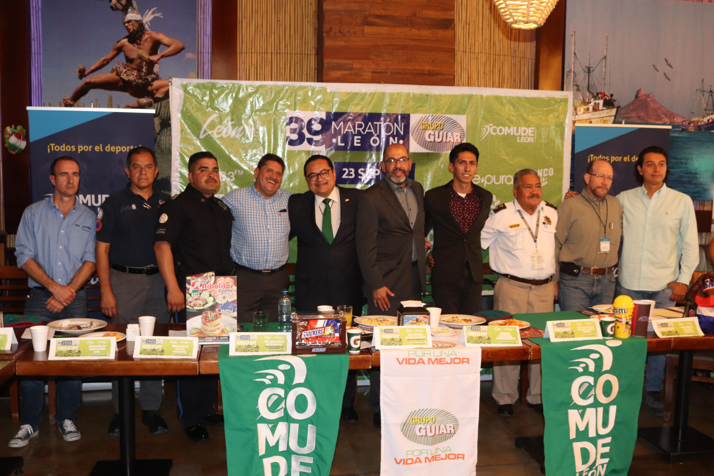 Dependencias Municipales unen esfuerzos para fortalecer la edición 39 del Maratón León Guiar 2018
