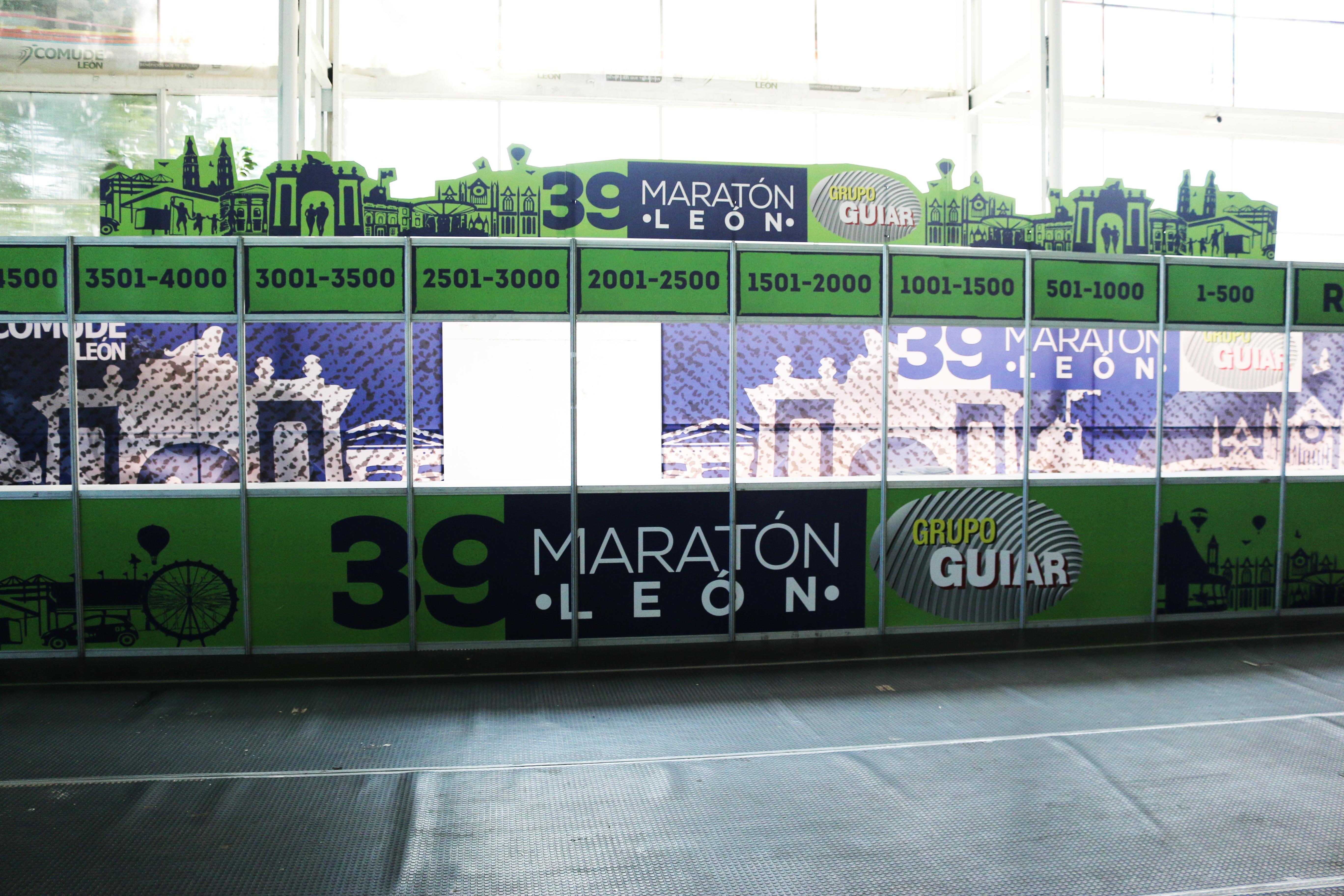 Todo está listo para la fiesta del Maratón León Guiar 2018