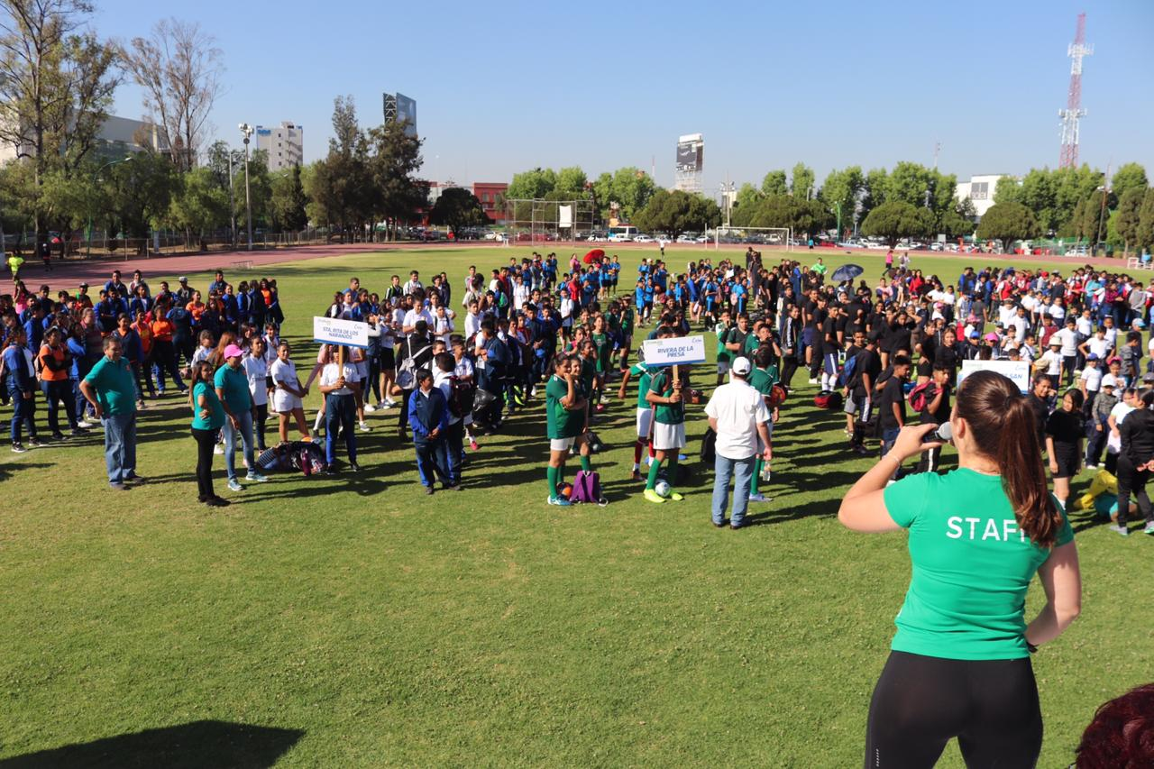 Se activan 2 mil jóvenes en conmemoración del Día Mundial de la Actividad Física