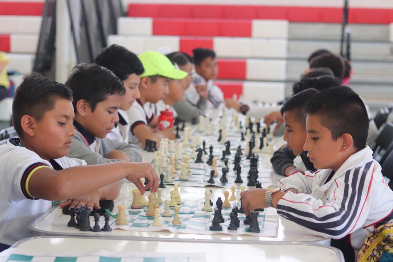 Participan 250 trebejistas en 1er. Campeonato Escolar de Ajedrez 2019