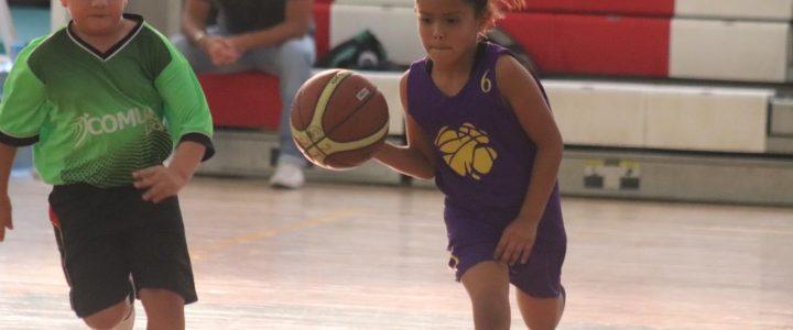 Superan escuelas de inicio de básquetbol a rivales en dual meet